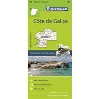 Michelin Wegenkaart 141 Galicië Kust Costa