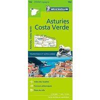 Michelin Wegenkaart 142 Asturias Costa Verde