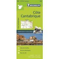 Michelin Wegenkaart 143 Costa Cantabria
