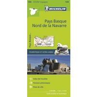 Michelin Wegenkaart 144 Pyreneeën West Baskenland