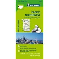 Michelin Wegenkaart 171 Pacific Northwest