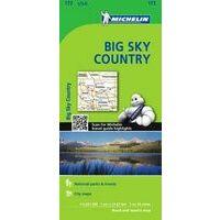 Michelin Wegenkaart 172 Big Sky Country