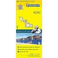 Michelin Wegenkaart 302 Nord