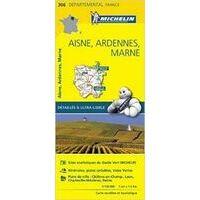 Michelin Wegenkaart 306 Aisne Ardennes
