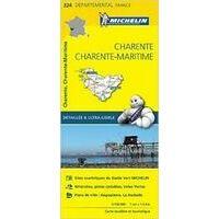 Michelin Wegenkaart 324 Charente Charente-Maritime
