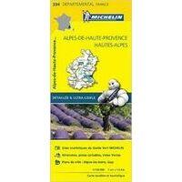 Michelin Wegenkaart 334 Alpes-de-Haute-Provence