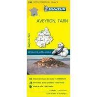 Michelin Wegenkaart 338 Aveyron Tarn