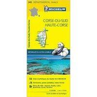 Michelin Wegenkaart 345 Corsica