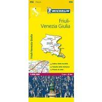 Michelin Wegenkaart 356 Friuli-Venezia Giulia