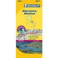 Michelin Wegenkaart 361 Abruzzo, Molise