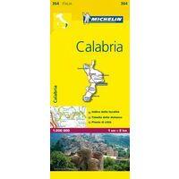Michelin Wegenkaart 364 Calabria Calabrië