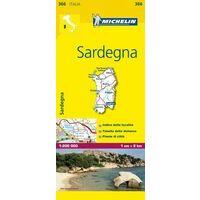 Michelin Wegenkaart 366 Sardinië Sardinia