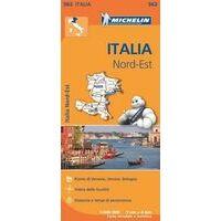 Michelin Wegenkaart 562 Italië Noordoost