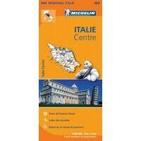Michelin Wegenkaart 563 Italië Centraal