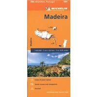Michelin Wegenkaart 594 Madeira