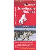 Michelin Wegenkaart 711 Scandinavië