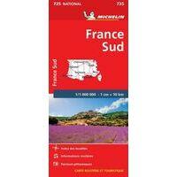 Michelin Wegenkaart 725 Zuid-Frankrijk