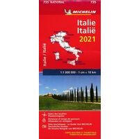Michelin Wegenkaart 735 Italië 2021