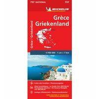 Michelin Wegenkaart 737 Griekenland
