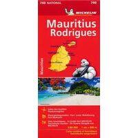 Michelin Wegenkaart 740 Mauritius