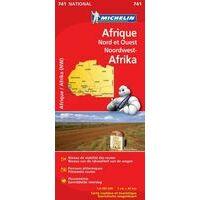Michelin Wegenkaart 741 Noordwest Afrika