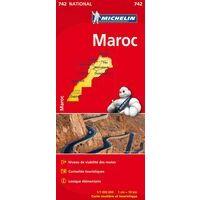 Michelin Wegenkaart 742 Marokko