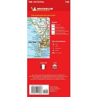 Michelin Wegenkaart 748 Zuid-Afrika