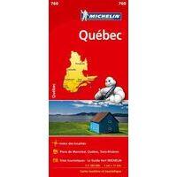 Michelin Wegenkaart 760 Quebec