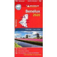 Michelin Wegenkaart 795 Benelux Scheurvast 2020