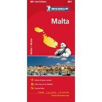 Michelin Wegenkaart 801 Malta En Gozo