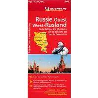 Michelin Wegenkaart 805 Rusland West