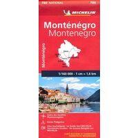 Michelin Wegenkaart Montenegro