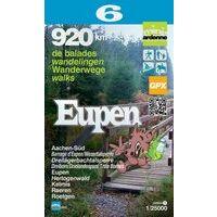 Mini Ardenne Wandelkaart 6 Eupen 1:25.000