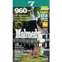 Mini Ardenne Wandelkaart 7 Malmedy 1:25.000