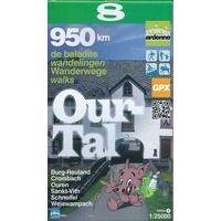 Mini Ardenne Wandelkaart 8 Ourtal 1:25.000