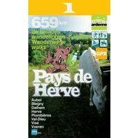 Mini Ardenne Wandelkaart 1 Pays De Herve Knooppunten 1:25.000