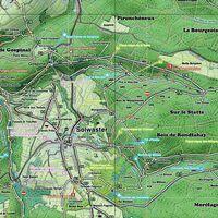 Mini Ardenne Wandelkaart 3 Hoge Venen Knooppunten