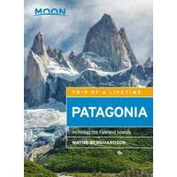 Moon Books Patagonia Including Falkland Islands