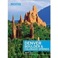 Moon Books Reisgids Denver, Boulder & Colorado Springs