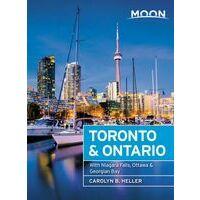 Moon Books Reisgids Toronto And Ontario