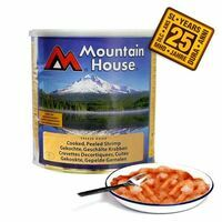 Mountain House Blik Shrimps - Blik Garnalen Houdbaar Tot 2035!