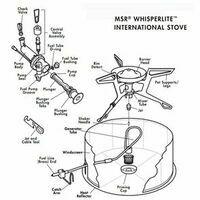 MSR WL/WLI Stove Legs Voor Whisperlite