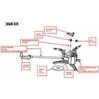 MSR XGK EX Non-shaker G-jet