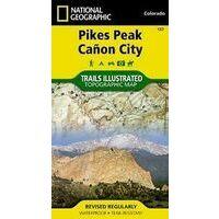 National Geographic Wandelkaart 137 Pikes Peak