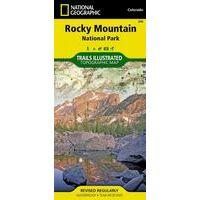National Geographic Wandelkaart 200 Rocky Mountain NP