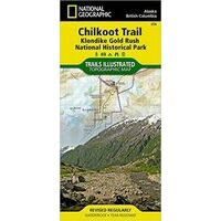 National Geographic Wandelkaart 254 Chilkoot Trail Klondike