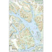 National Geographic Wandelkaart 255 Glacier Bay NP