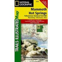 National Geographic Wandelkaart 303 Yellowstone Northwest