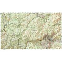 National Geographic Wandelkaart 306 Yosemite Southwest