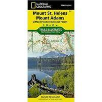 National Geographic Wandelkaart 822 Mount St. Helens